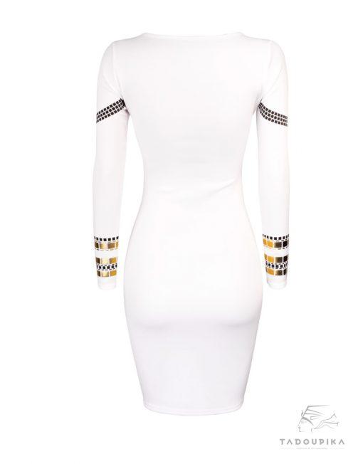 robe kim kardashian blanche dos