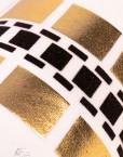 robe kim kardashian blanche detail zoom