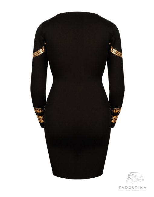 robe kim noire xl arriere