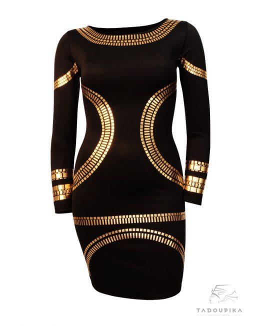 robe kim noire avant