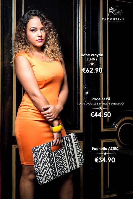 tadoupika boutique luxe lookbook decembre 2014 laetitia pomona robe jennifer lopez eva longoria