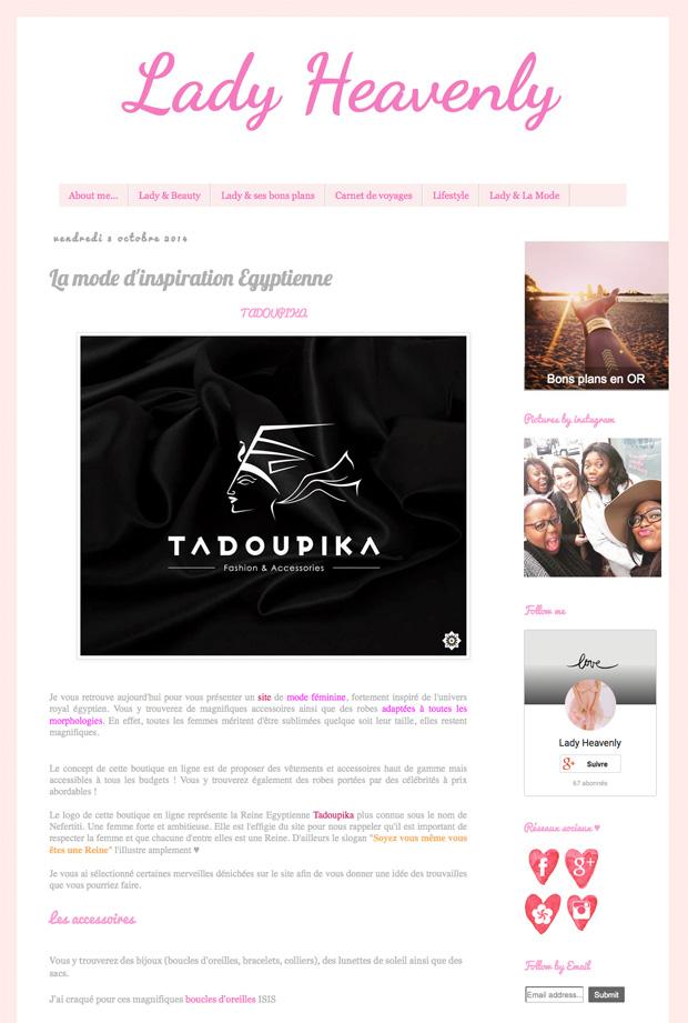 lady heavenly blog