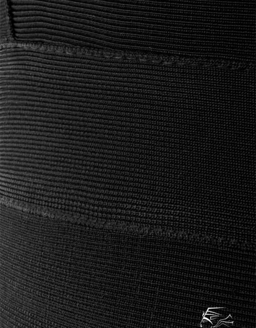 robe-bandage-gainante-noire-detail-zoom