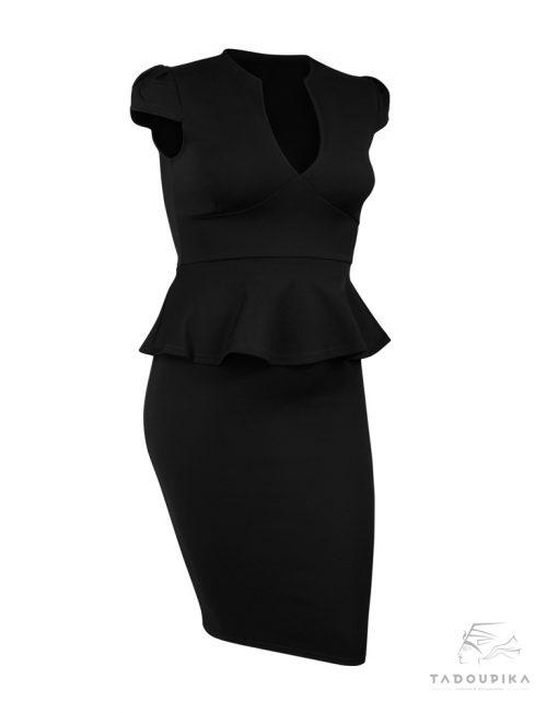 robe-peplum-kelly-noire-xl-tiers