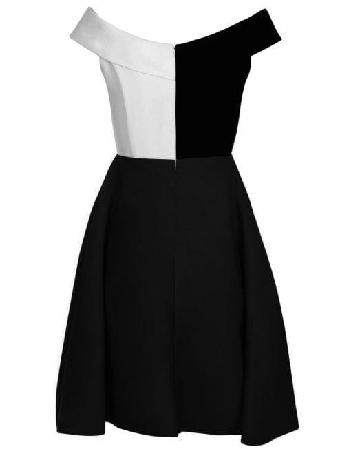 robe-brigitte-noire-blanc-contrast-illusion-dress-custom-dress-personnalisable-plsu-siz-curve-france-mode-femme-magazine-defile-ete-summer-weddin-dos-510x6