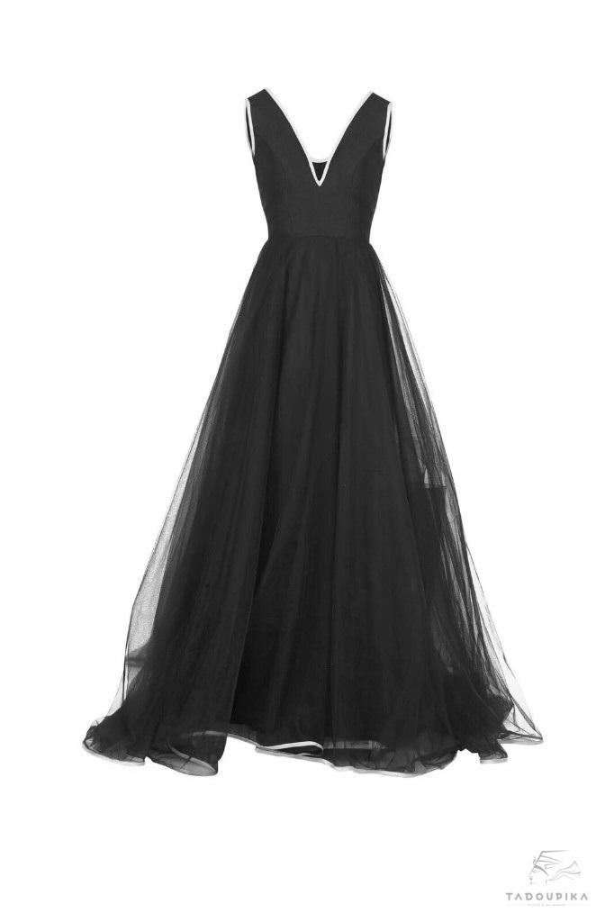 robe de soirée long train dress tulle dress evening dress glamour dress robe de france luxe mode grandiose personnalisable plsui size curve wedding face tadoupika