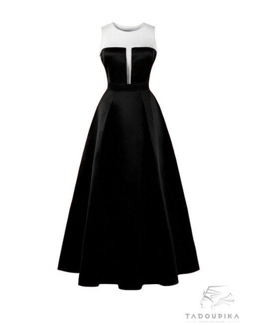 women-plus-size-evening-dress-mesh-dress-satin-dress-robe-de-soirée-plunge-v-neck-deep-v-neck-tadoupika-510x652-min
