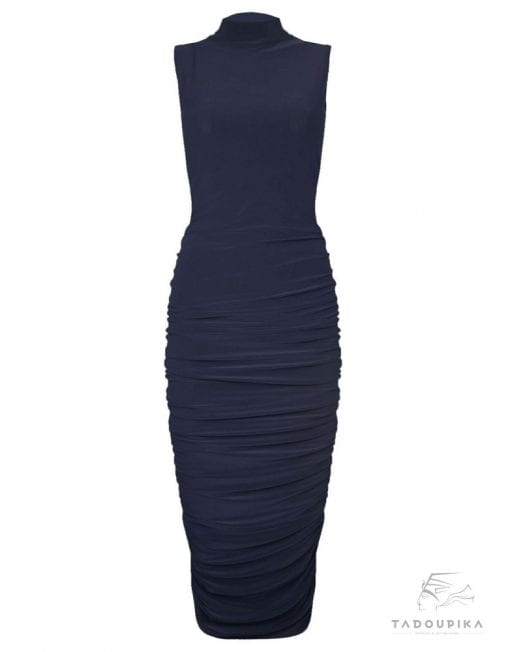 Robe-moulante-plissée-longueur-genoux-plus-size-dress-pleated-dress-office-dress-mode-femem-france-tadoupika-510x652-min