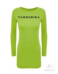 robe neon tadoupika manches longues logo plus