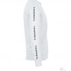 15 sweat blanc logo multi manche impression manches tadoupika