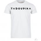tee shirt blanc logo