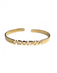 BRACELET bangle jonc dore acier inoxydable femme bijou cadeau gift gold worlwilde shipping reine egypte nefertiti tadoupika