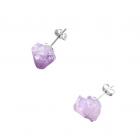 boucles d oreille amethites argent925 bijou mini