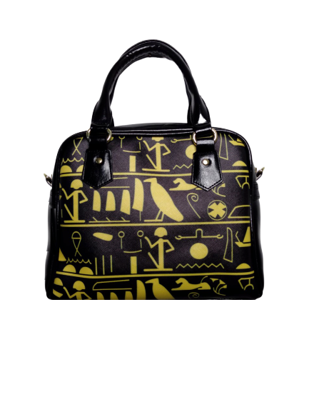 sac a main sac de ville women bag print egypt bag godess print pu bag vegan bag france paris tadoupika
