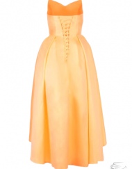 robe_cocktail_orange_pastel_wedding dress cocktail bridesmaids dress french lille paris marseille bordeaux mode femme plsu size sur mesure tadoupika