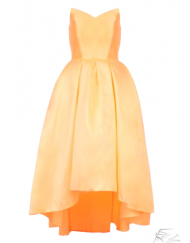 robe_cocktail_orange_wedding