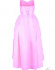 strapless cocktail robe_bustier_rose_pastel-bonbon sweat bridesmaid dress france mode femme plus size all size wedding planner tadoupika