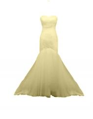 robe bustier beige tulle weave croisé trumpet mermaid sur mesure mode curvy plus sie sur mesure mariage wedding champagne tadoupika